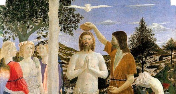 Gesù che chiede all'acqua