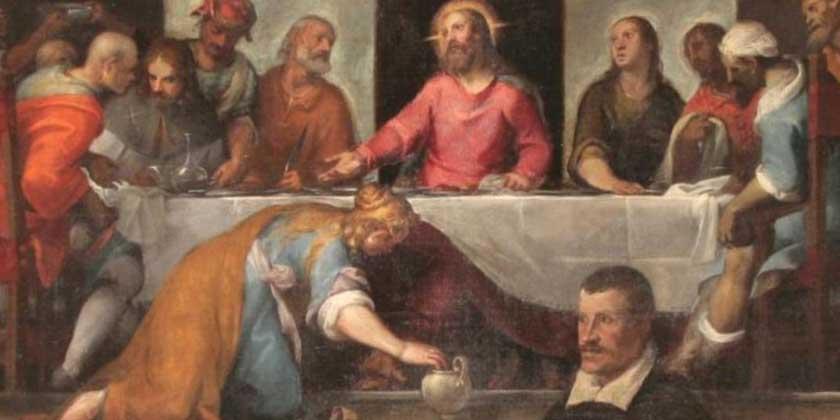 Il profumo di Maria di Betania su Gesù