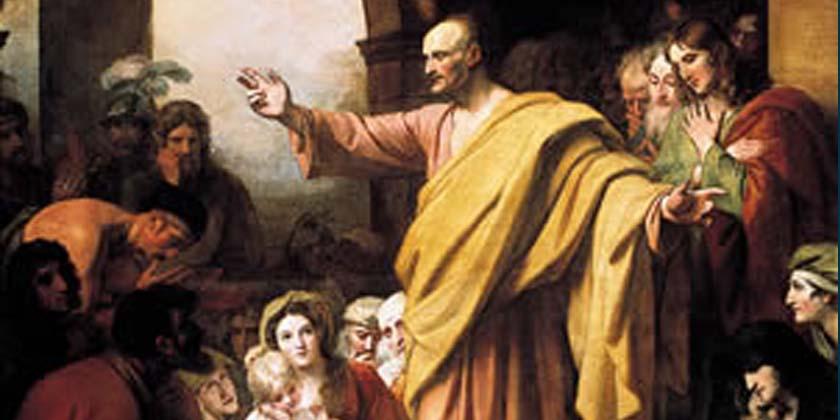 Maria nel giorno di Pentecoste