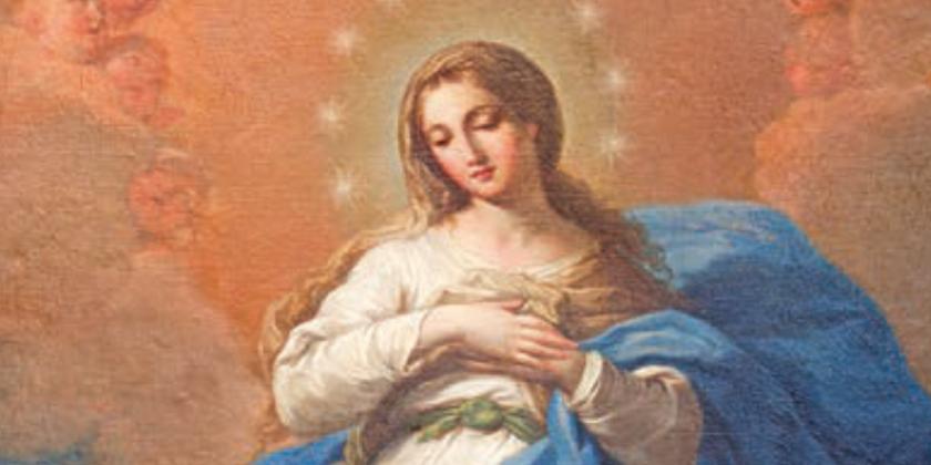 """Madre purissima"""