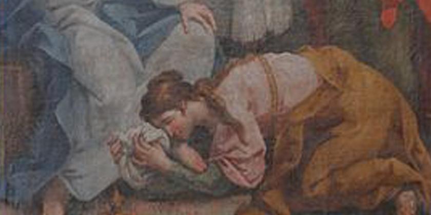 Il cuore di Gesù e la donna peccatrice