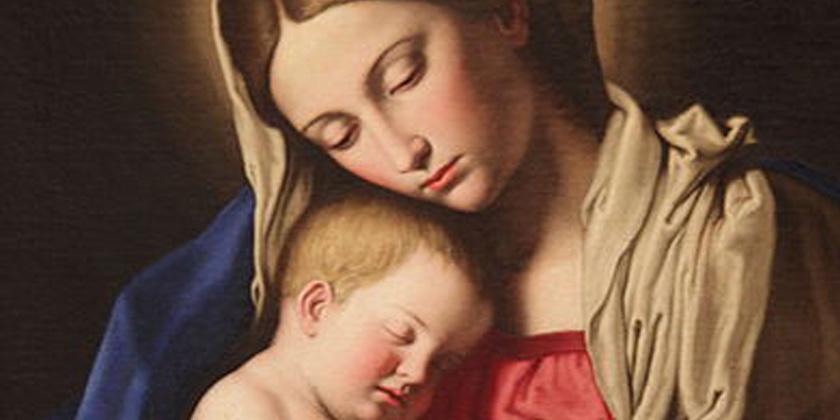 """Madre sempre Vergine"""