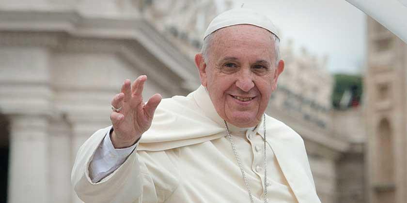 Maria in alcuni testi di Papa Francesco