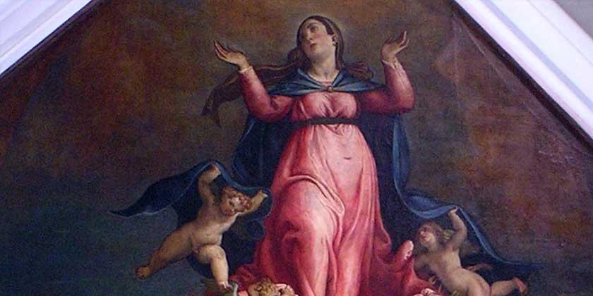 L'Assunzione di Maria in cielo – 1