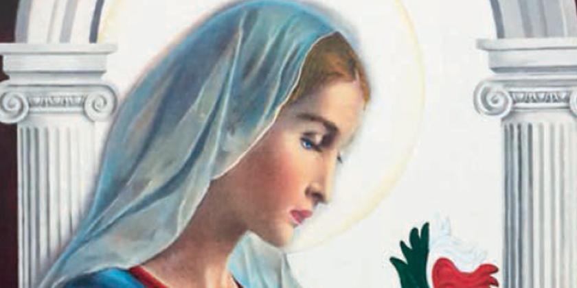 """Vergine fedele"""