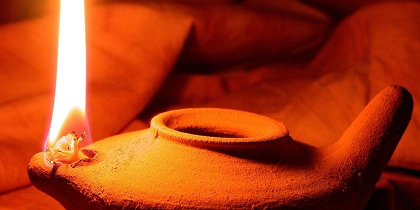 I piccoli vasi dell'olio dell'amore