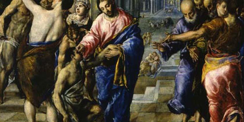 Il figlio di Timèo, Bartimèo, che era cieco